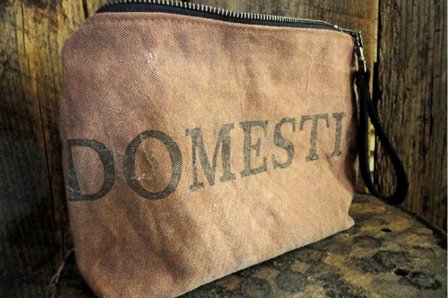 Repurposed post office bag