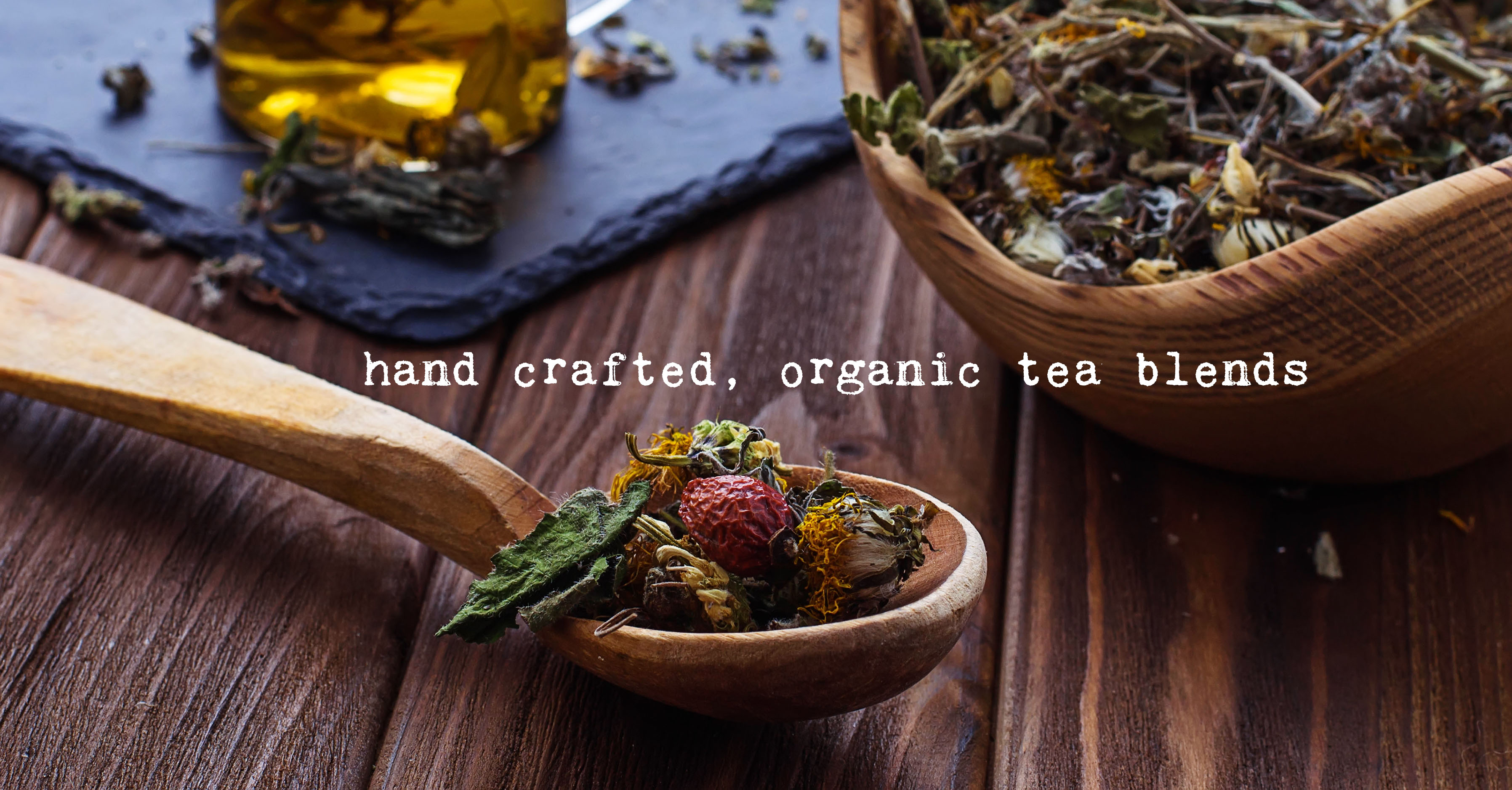 1770 mercantile Organic tea blends