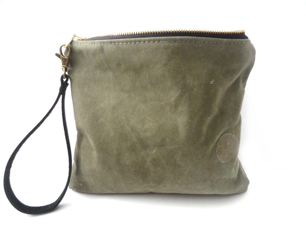 Repurposed military pouch